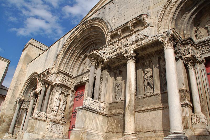 Abbatiale de Saint Gilles ©Bruno Trouillet