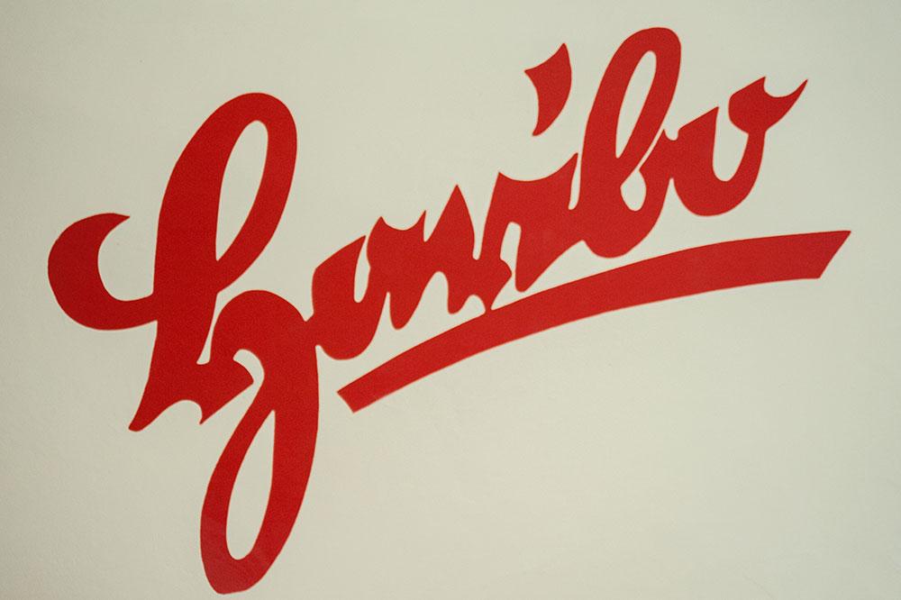 Le premier logo Haribo