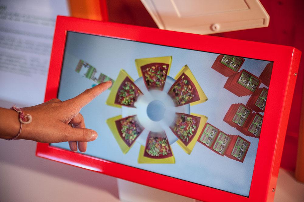 Des bornes interactives pour apprendre en s'amusant
