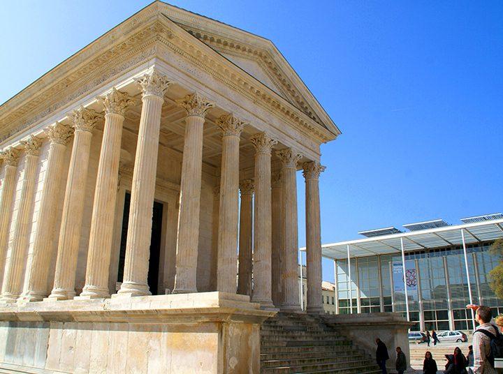 Les monuments romains de Nîmes