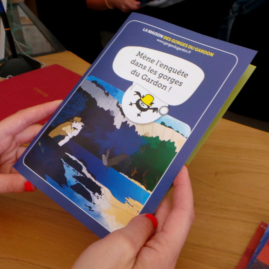 Pour les enfants, un livret pédagogique est offert à l'entrée du musée.
