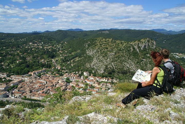 Randonnée au rocher de Peyremale en Cévennes