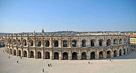 A Nîmes et sa région...