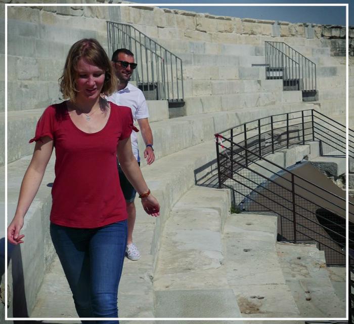 Dans les arènes de Nîmes