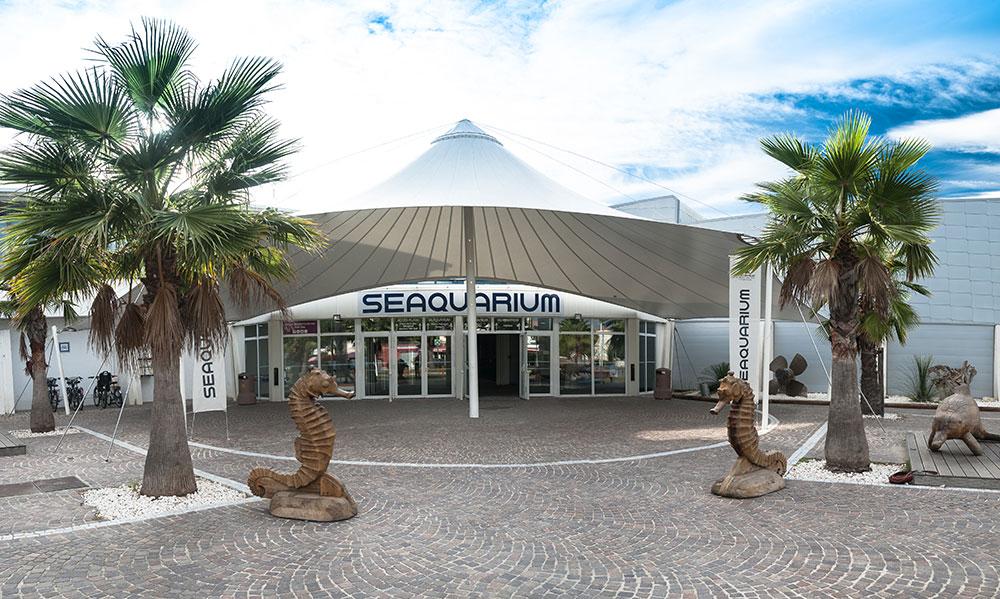 L'entrée du Seaquarium
