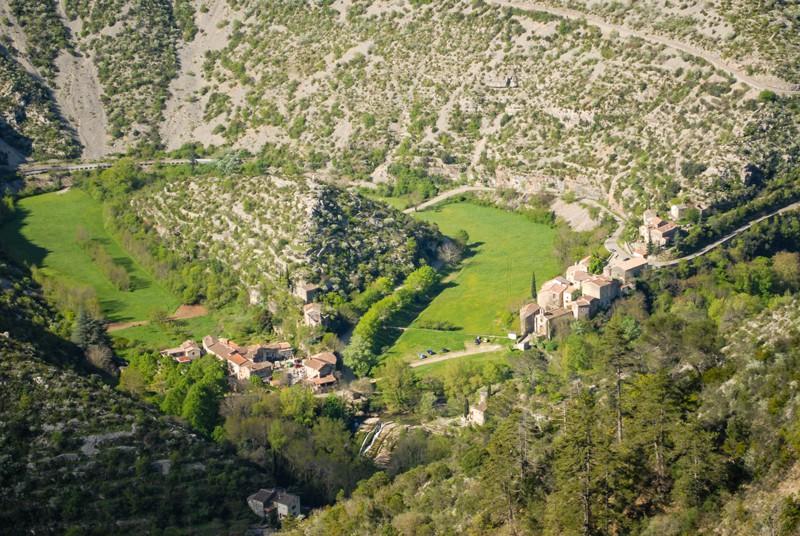 Le Grand Site de Navacelles et son village.