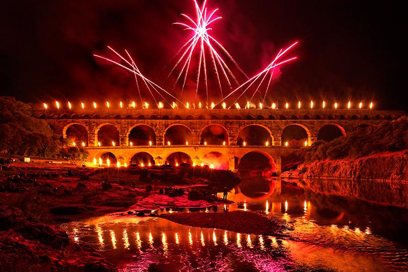 Fééries du Pont du Gard  ©Thierry-NAVA