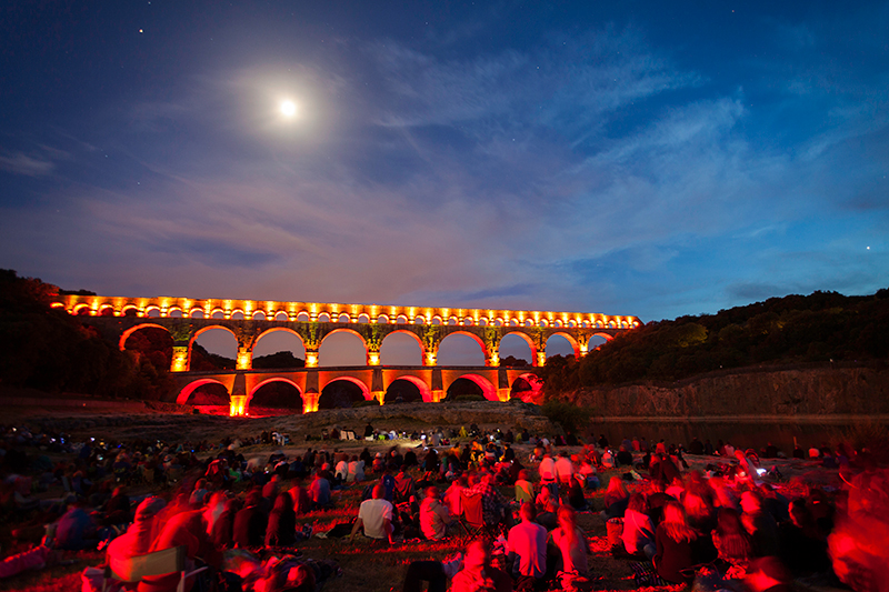 Fééries du Pont du Gard  ©EPCC-Pont-du-Gard
