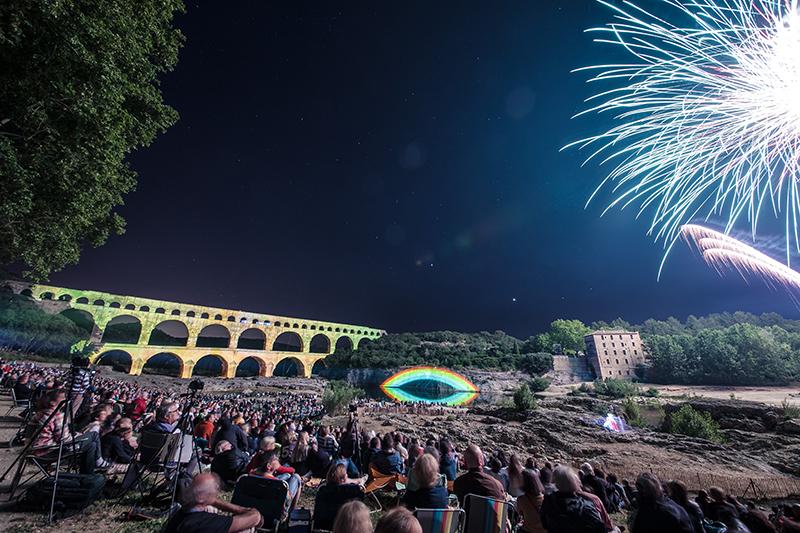 Fééries du Pont du Gard  ©Thomas-O-BRIEN