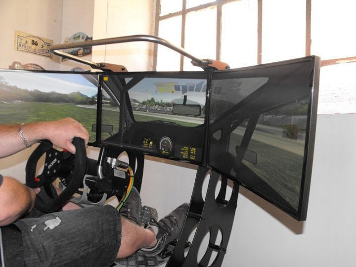 Simulateurs course rallye au Pole Mecanique d Ales
