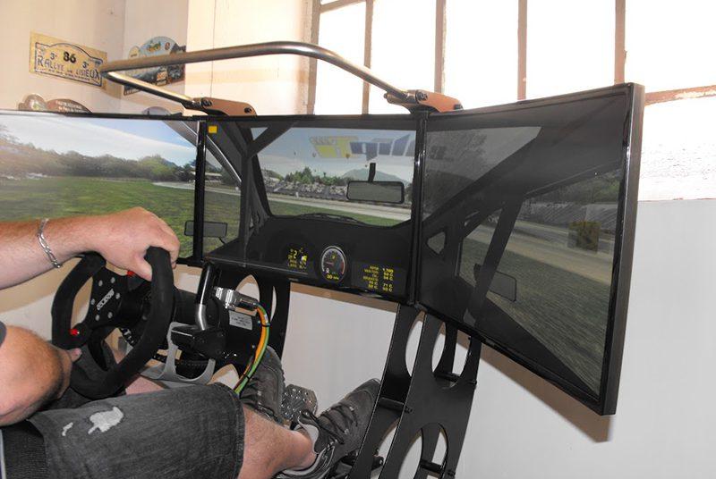 Simulateurs course rallye au Pole Mecanique d Ales