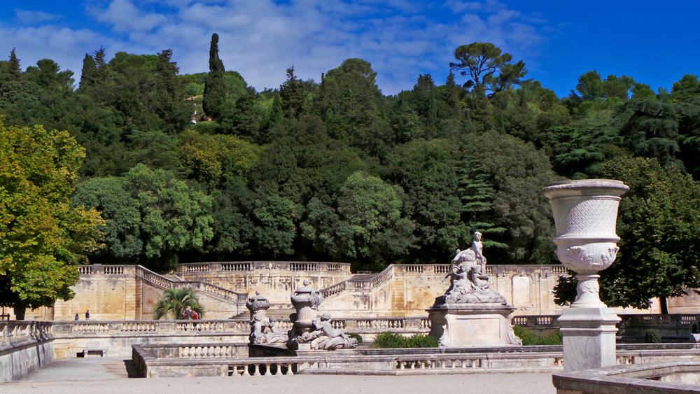 L'histoire de Nîmes a commencé autour de la source des Jardins de la Fontaine.