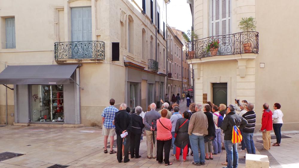 Les visites guidées des Hôtels Particuliers à Nîmes