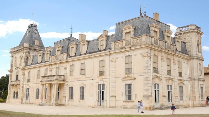 Le Chateau d'Espeyran aux environs de Saint Gilles
