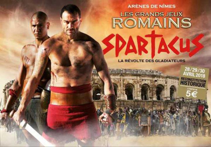 Les grands jeux romains 2018