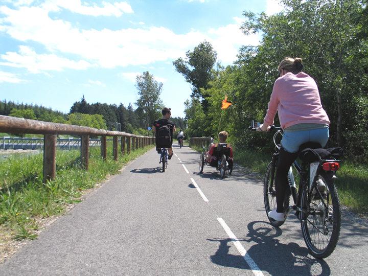 Itinéraire à vélo sur la Via-Rhôna