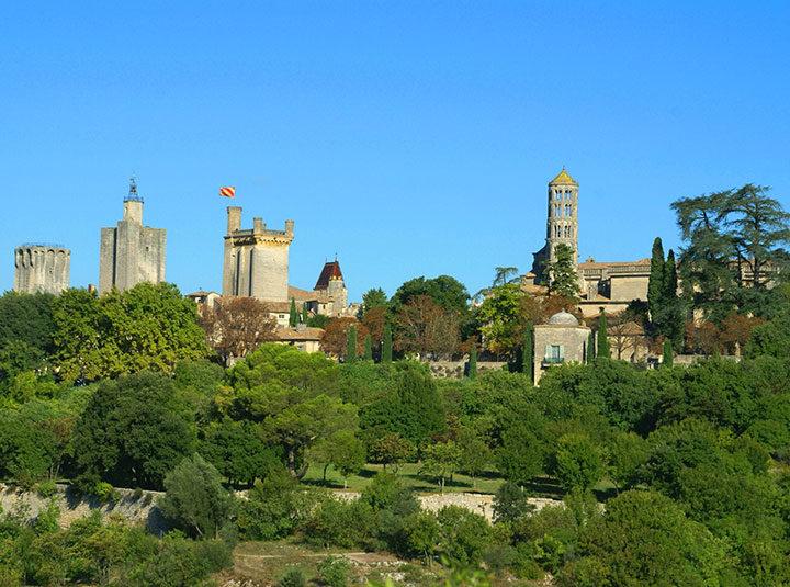 Uzès Pont du Gard