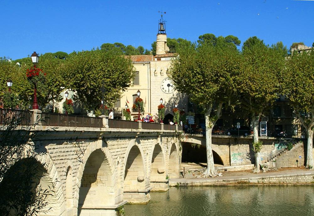 Sommières et son pont romain