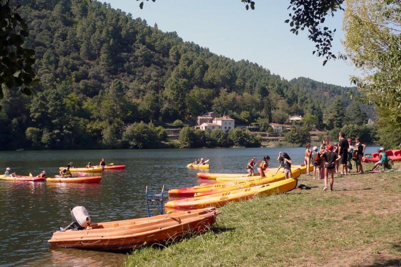 Activités au Lac camboux