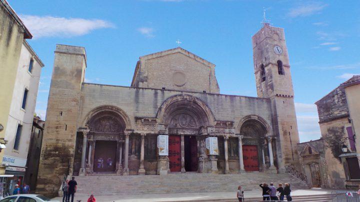 L'Abbatiale de Saint-Gilles est classée au Patrimoine Mondial de l'Humanité par l'Unesco.